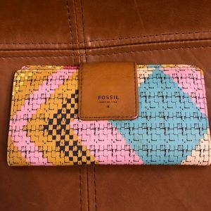 Cute Boho Style Fossil Wallet